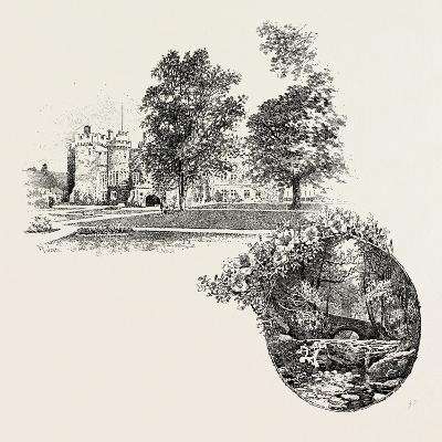 Featherstone Castle and Featherstone Bridge, UK--Giclee Print