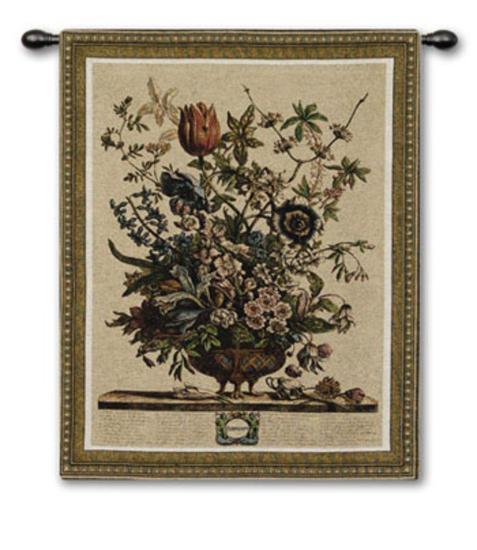 Feb Botanical-Robert Furber-Wall Tapestry