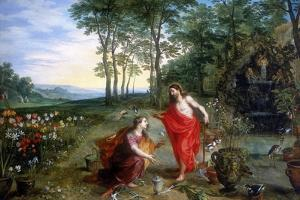 Noli Me Tangere (Do Not Touch Me), 17th Century by Feb Brueghel the Younger