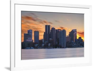 February Sunset-Michael Blanchette Photography-Framed Giclee Print