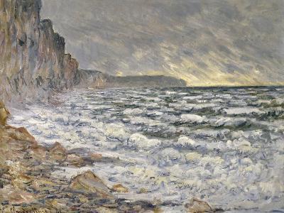 Fécamp, bords de mer-Claude Monet-Giclee Print