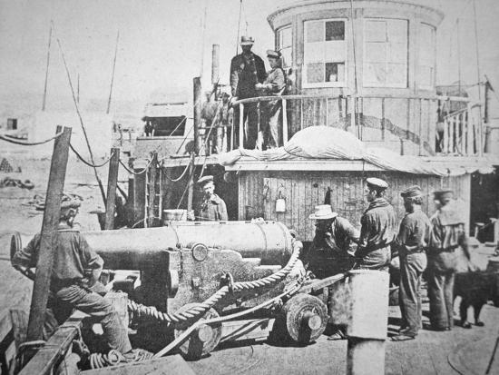 Federal Gun-Boat, Thomas Freeborn--Photographic Print