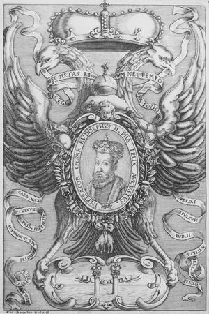 Emperor Rudolf II, Plate 11 of 'The Emperors of the Habsburg Dynasty', 1649-1657
