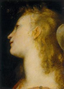 Angel's Head, Palatine Gallery, Palazzo Pitti, Florence by Federico Barocci