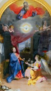 Annunciation by Federico Barocci