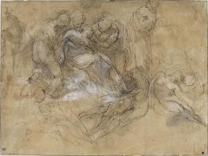 Etude pour un évanouissement de la vierge by Federico Barocci