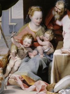 La Sainte Famille au chat by Federico Barocci