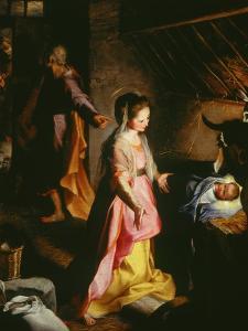 Nativity by Federico Barocci