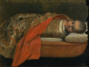 Portrait of the Newborn Federigo Di Urbino, 1605 by Federico Barocci