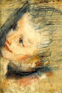 Study for the Head of Jesus Christ by Federico Barocci
