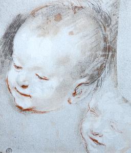 Tete d Enfant by Federico Barocci