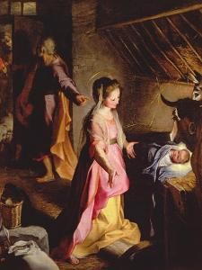 The Adoration of the Child, 1597 by Federico Barocci