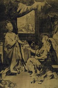The Annunciation by Federico Barocci