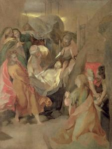 The Entombment of Christ by Federico Barocci