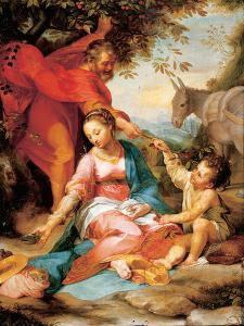 The Rest on the Return from Egypt by Federico Barocci