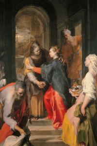 The Visitation by Federico Barocci