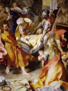 Trasporto Di Cristo Al Sepolcro by Federico Barocci