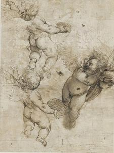 Trois angelots by Federico Barocci