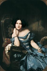 Countess of Vilches by Federico de Madrazo y Kuntz