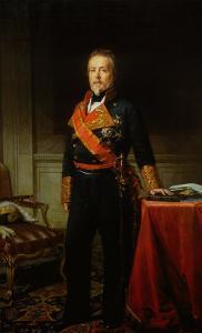 Portrait of the General Duque de San Miguel by Federico de Madrazo y Kuntz