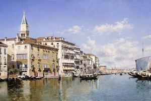 The Grand Canal, Venice, 1883 by Federico del Campo