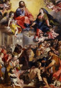 Madonna of the People, 1579 by Federico Fiori Barocci or Baroccio