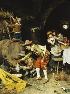 A Good Wine by Federigo Andreotti