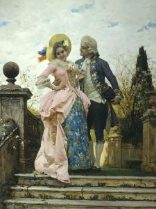Courtship by Federigo Andreotti