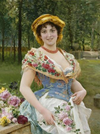 Rose Celebration, Tripudio Di Rose, 19th Century