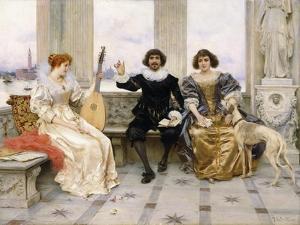 The Recital by Federigo Andreotti