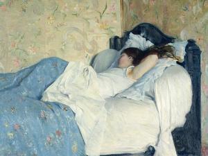 In Bed by Federigo Zandomeneghi