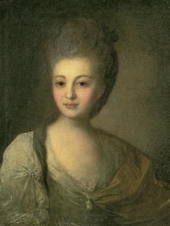 Portrait of Aleksandra P. Struyskaya