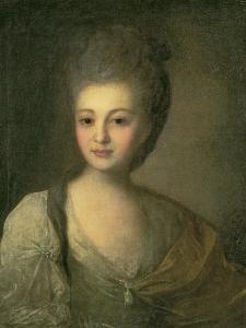 Portrait of Aleksandra P. Struyskaya by Fedor Stepanovich Rokotov