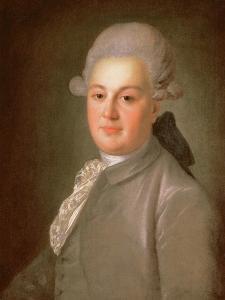 Portrait of Senator Count Artemy Vorontsov (1748-1813), after 1768 by Fedor Stepanovich Rokotov