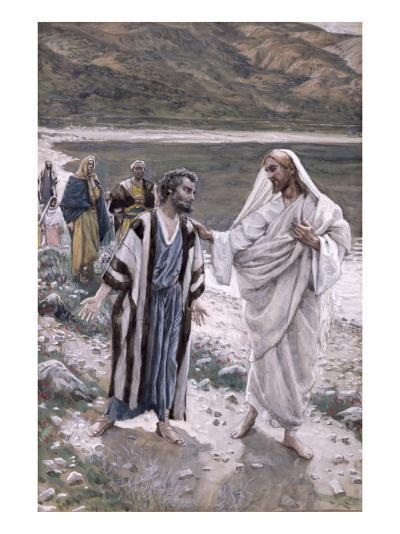 Feed My Lambs, Illustration for 'The Life of Christ', C.1884-96-James Tissot-Giclee Print