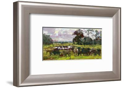 Feed Time-Robert Moore-Framed Art Print