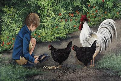 Feeding Ralphie-Debbi Wetzel-Giclee Print