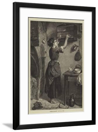 Feeding the Pets-W. Fyfe-Framed Giclee Print