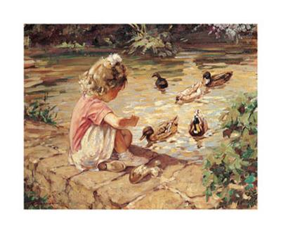 Feeding Time-Paul Gribble-Art Print