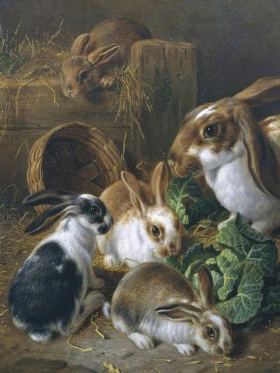 Feeding Time-Alfred Barber-Giclee Print