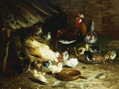 Feeding Time-Ignace Spiridon-Giclee Print
