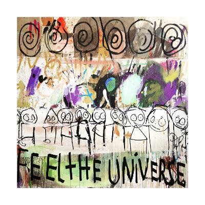 Feel the Universe-Poul Pava-Art Print