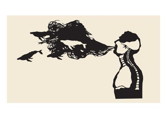 Feel What You Breathe-Molly Bosley-Giclee Print