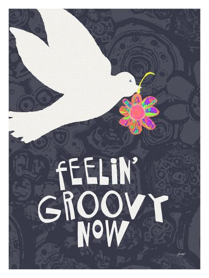 Feelin' Groovy Now-Lisa Weedn-Giclee Print