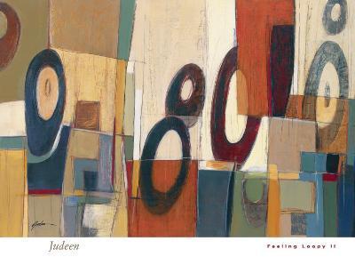 Feeling Loopy II-Judeen-Art Print