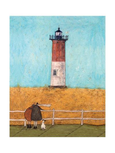 Feeling the Love at Nauset Light-Sam Toft-Giclee Print