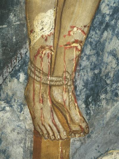 Feet of Thief, Detail Form the Crucifixion--Giclee Print