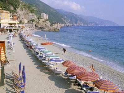 Fegina Beach, Cinque Terre, Liguria, Italy-Bruno Morandi-Photographic Print