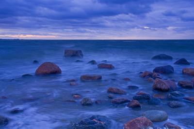 Fehmarn Sound, the Baltic Sea, Evening Mood-Thomas Ebelt-Photographic Print