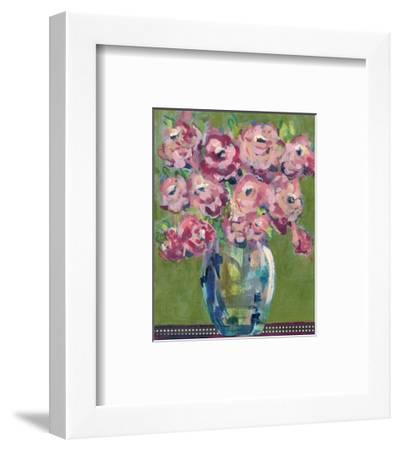 Feisty Floral III-Regina Moore-Framed Art Print